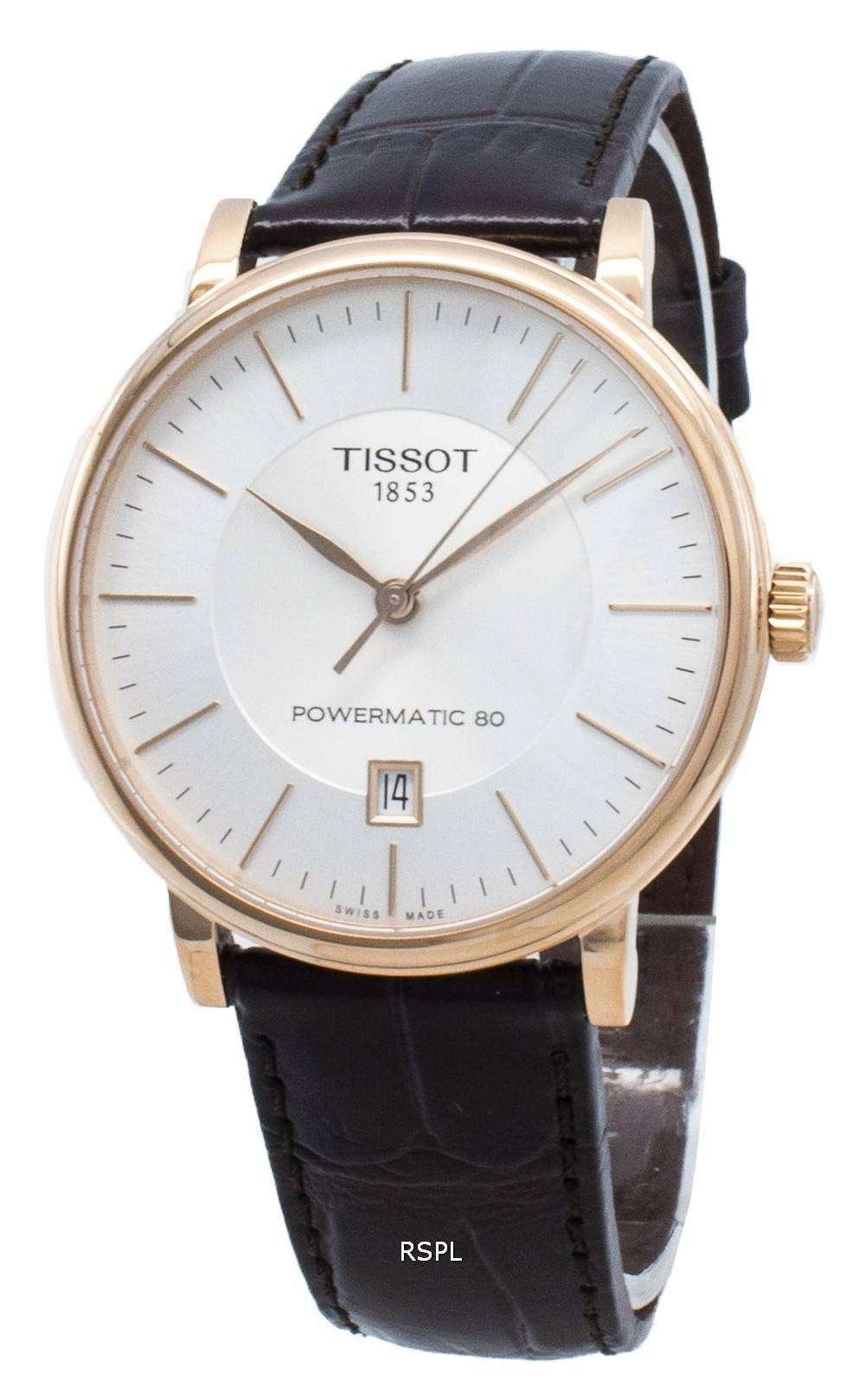 Tissot T-Classic Carson T122.407.36.031.00 T1224073603100 Automatic Men's Watch
