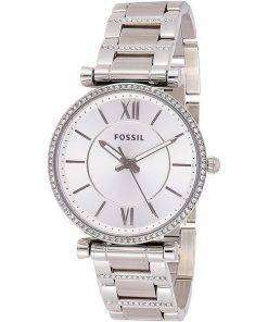 Fossil Carlie ES4341 Diamond Accents Quartz Women's Watch