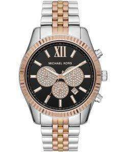 Michael Kors Lexington MK8714 Diamond Accents Quartz Men's Watch