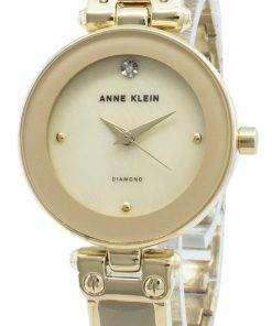 Anne Klein 1980TMGB Diamond Accents Quartz Women's Watch