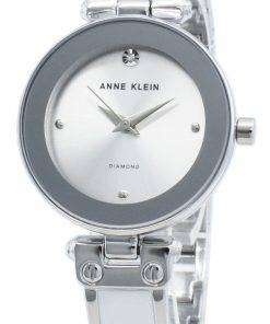 Anne Klein 1981WTSV Diamond Accents Quartz Women's Watch