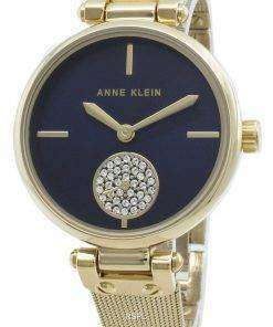 Anne Klein 3000NVGB Diamond Accents Quartz Women's Watch