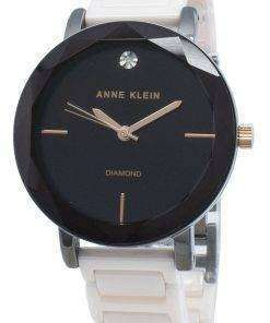 Anne Klein 3365GYLP Diamond Accents Quartz Women's Watch