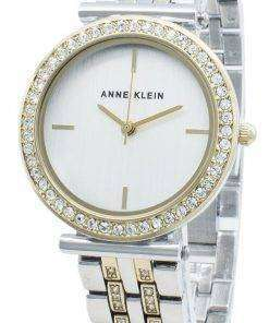 Anne Klein AK-3409SVTT Diamond Accents Quartz Women's Watch