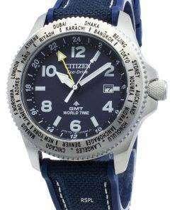 Citizen Promaster BJ7100-15L World Time Eco-Drive 200M Men's Watch