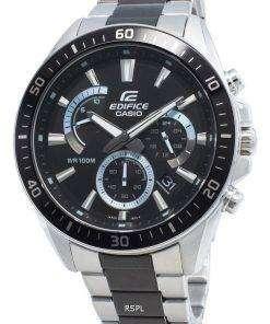Casio Edifice EFR-552SBK-1AV EFR552SBK-1AV Chronograph Men's Watch