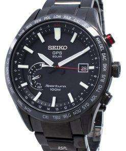 Refurbished Seiko Sportura GPS Solar World Time Japan Made SSF005 SSF005J1 SSF005J Men's Watch