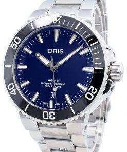 Oris Aquis Date 01 733 7730 4135-07 8 24 05PEB 01-733-7730-4135-07-8-24-05PEB Automatic 300M Men's Watch