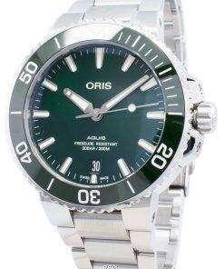 Oris Aquis Date 01 733 7732 4157-07 8 21 05PEB 01-733-7732-4157-07-8-21-05PEB Automatic 300M Men's Watch