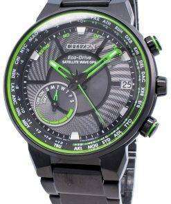Citizen Eco-Drive Satellite Wave GPS CC3075-80E World Time Men's Watch