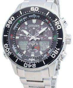 Citizen PROMASTER Marine Eco-Drive JR4060-88E Chronograph 200M Men's Watch