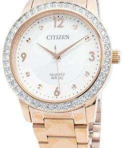 Citizen EL3093-83A Diamond Accents Quartz Women's Watch