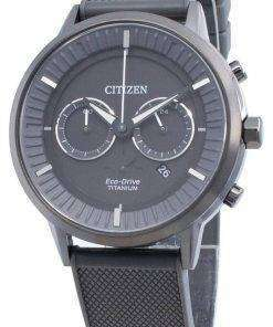 Citizen Eco-Drive Titanium CA4405-17H Chronograph Men's Watch