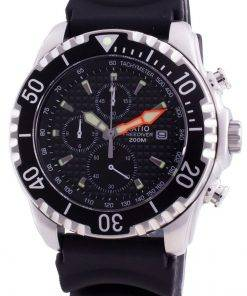 Ratio 200m Diver Quartz Chronograph Sapphire 48HA90-17+CHR-BLK Men's Watch