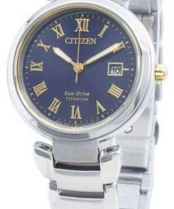 Citizen Eco-Drive Titanium EW2509-83L Women's Watch
