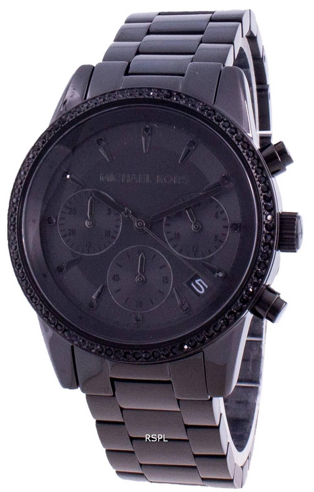 Michael Kors Ritz MK6725 Quartz Diamond Accents Women's Watch