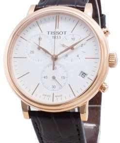 Tissot Carson Premium T122.417.36.011.00 T1224173601100 Chronograph Quartz Men's Watch