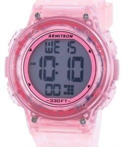 Armitron Sport 457086TPK Quartz Dual Time Women's Watch