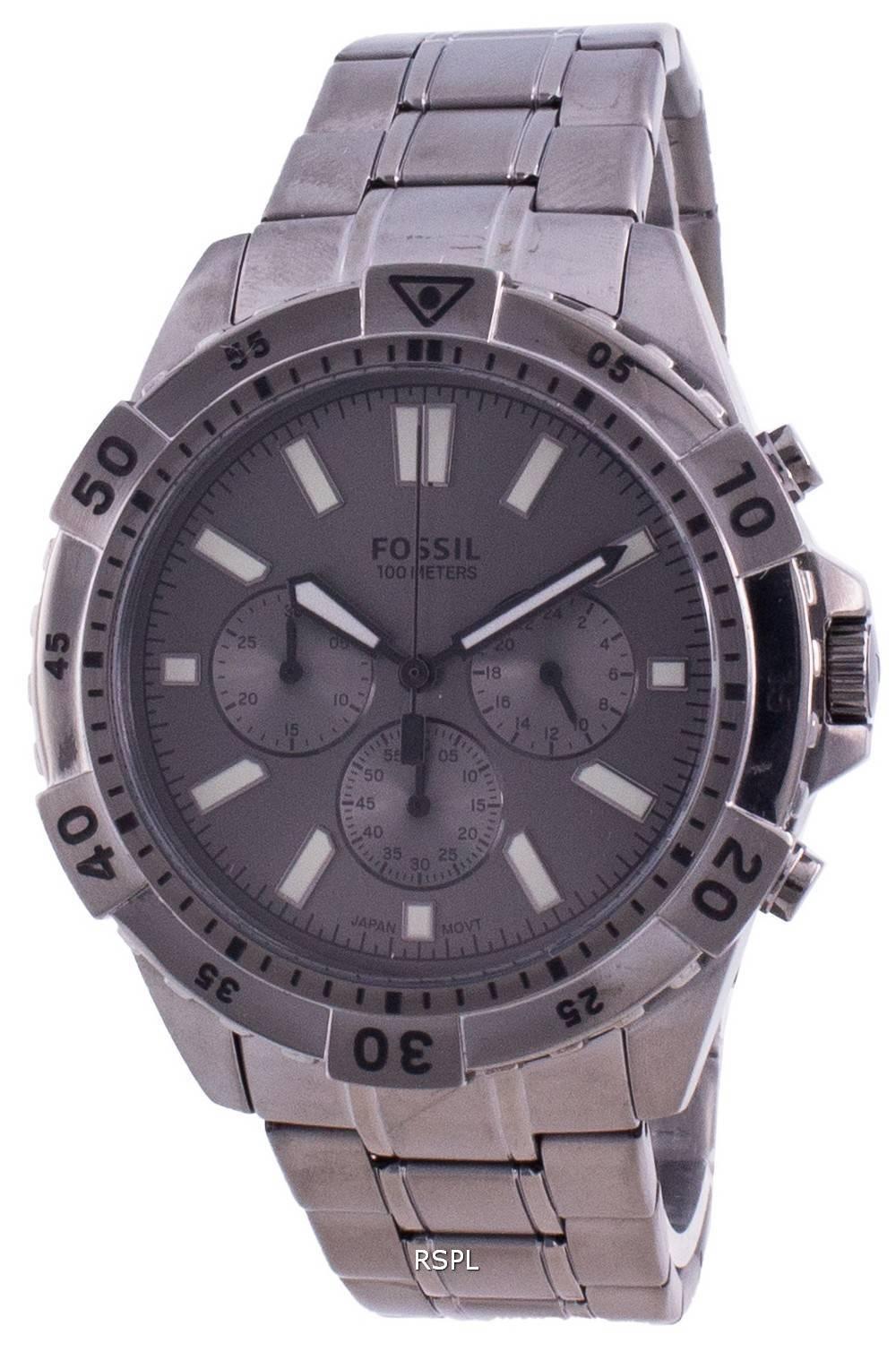 Fossil Garrett FS5621 Quartz Chronograph Men's Watch