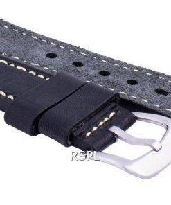 Seiko LS16 Black Rubber Strap 22mm