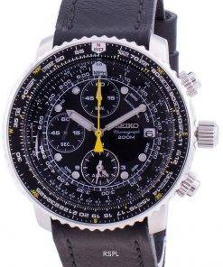 Seiko Pilot's Flight SNA411P1-VAR-LS8 Quartz Chronograph 200M Men's Watch