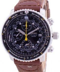 Seiko Pilot's Flight SNA411P1-VAR-NS1 Quartz Chronograph 200M Men's Watch