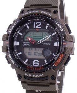 Casio Youth WSC-1250H-3AV Quartz Moon Phase Men's Watch