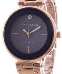 Anne Klein 2512GYRG Quartz Diamond Accents Women's Watch