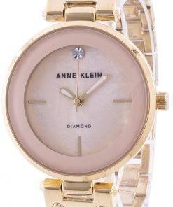 Anne Klein 2512LPGB Quartz Diamond Accents Women's Watch
