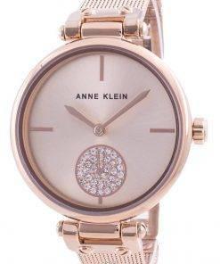 Anne Klein Swarovski Crystal Accented 3000RGRG Quartz Women's Watch