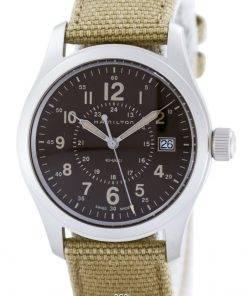 Hamilton Khaki Filed Quartz Swiss Made H68201993 Men's Watch