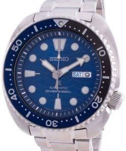 Seiko Prospex Turtle Save The Ocean Automatic Diver's SRPD21 SRPD21J1 SRPD21J 200M Men's Watch