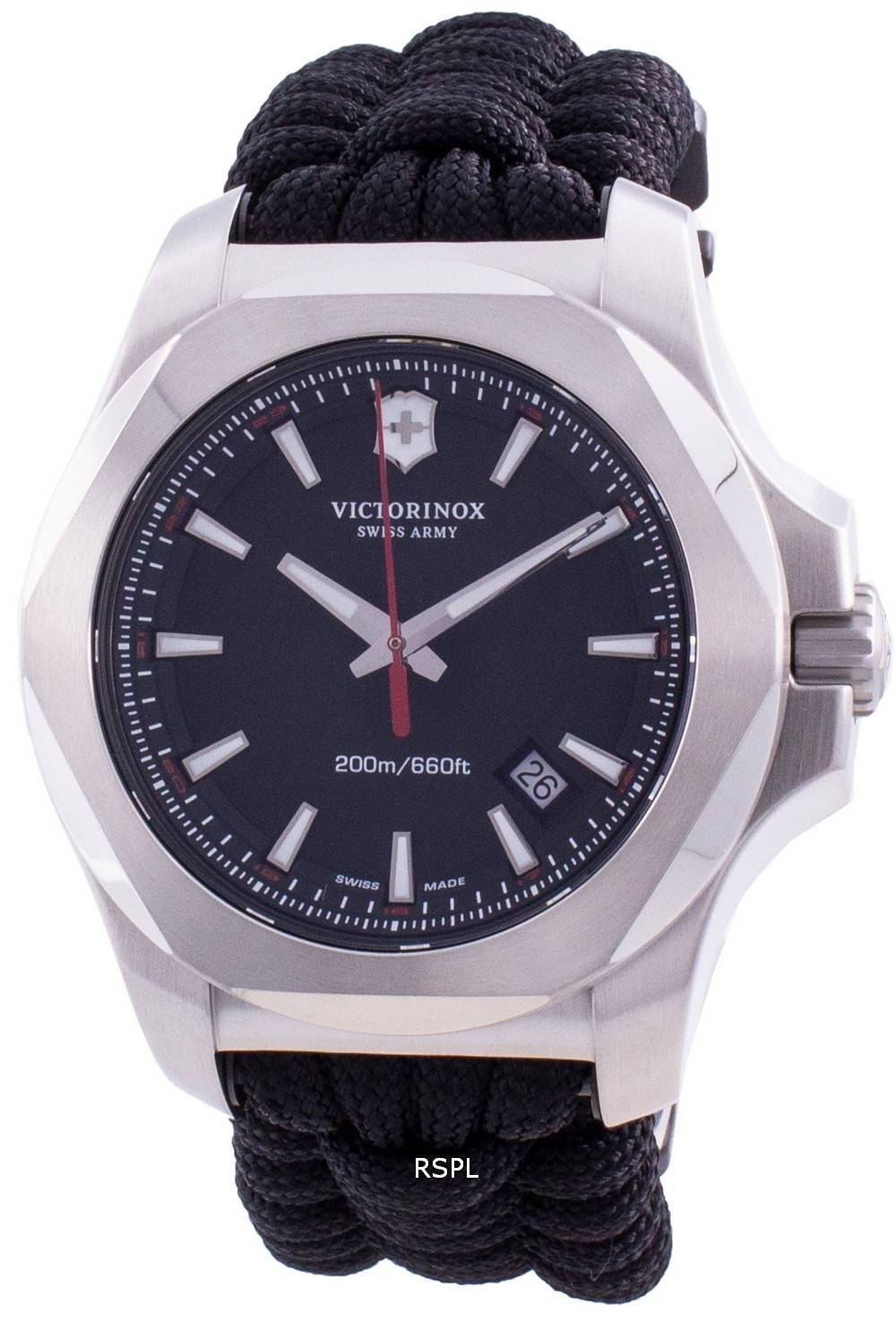 Victorinox Swiss Army I.N.O.X. 241726 Quartz 200M Men's Watch