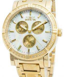 Invicta Wildflower 4743 Quartz Diamond Accents Chronograph 100M Women's Watch