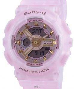 Casio Baby-G World Time Quartz BA-110SC-4A BA110SC-4A 100M Women's Watch