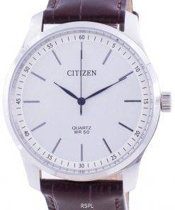 Citizen White Dial Calf Leather Quartz BH5000-08A Men's Watch