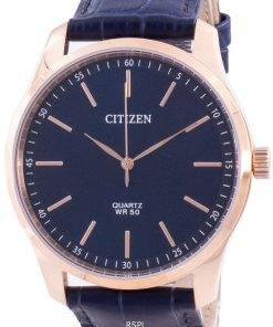 Citizen Blue Dial Calf Leather Quartz BH5003-00L Men's Watch