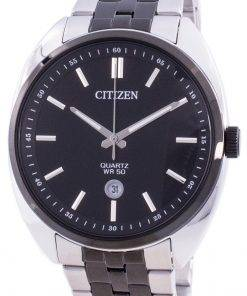 Citizen Black Dial Stainless Steel Quartz BI5098-58E Men's Watch