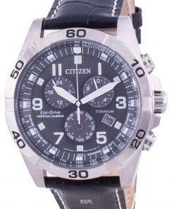 Citizen Brycen Super Titanium Perpetual Calendar Eco-Drive BL5551-14H 100M Men's Watch