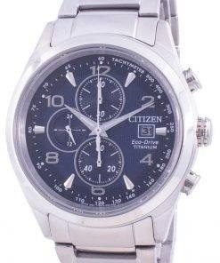 Citizen Eco-Drive Super Titanium Tachymeter CA0650-82L 100M Men's Watch