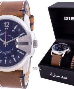 Diesel Master Chief Blue Dial Quartz DZ1925 With Gift Set 100M Mens Watch