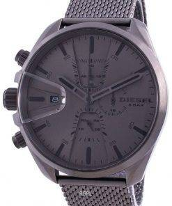 Diesel MS9 Chronograph Gunmetal Stainless Steel Quartz DZ4528 Mens Watch