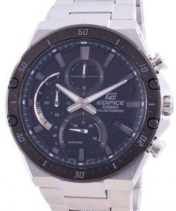 Casio Edifice Solar Powered Chronograph EFS-S560DB-1AV EFSS560DB-1 100M Mens Watch