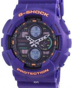Casio G-Shock World Time Quartz GA-140-6A GA140-6A 200M Men's Watch