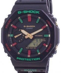 Casio G-Shock World Time Quartz GA-2100TH-1A GA2100TH-1A 200M Men's Watch