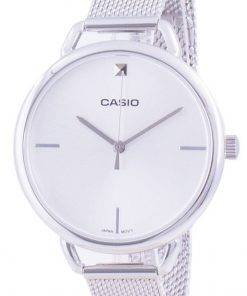 Casio Silver Dial Stainless Steel Quartz LTP-E415M-7C LTPE415M-7C Women's Watch
