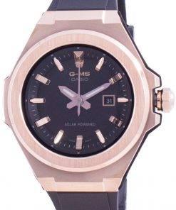 Casio Baby-G Black Dial Solar MSG-S500G-1A MSGS500G-1A 100M Women's Watch