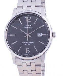 Casio Black Dial Stainless Steel Quartz MTS-110D-1AV MTS110D-1AV Men's Watch