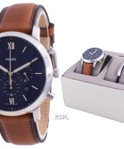 Fossil Neutra Chronograph Quartz FS5708SET With Gift Set Women's Watch