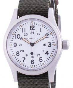 Hamilton Khaki Field White Dial Automatic H69439411 Men's Watch